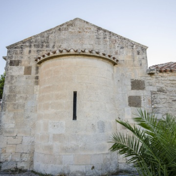 Church of Our Lady of Coros, apse (photo Angelo Marras)